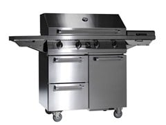 Barbecue a gas SWING - STEEL
