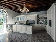 Cucina laccata in legno in stile classico ETOILE - COMPOSIZIONE 3 - Etoile