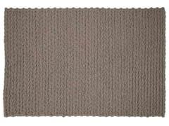 Tappeto rettangolare in lana TRENZAS | Tappeto rettangolare - Trenzas
