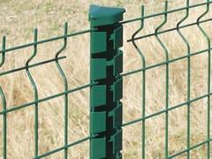 Palo per recinzione in acciaio zincatoPROFILPLAX - GRUPPO CAVATORTA