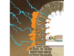 Sistema di impermeabilizzazione delle murature contro terraInietta & Impermeabilizza® - TECNORED