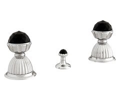 Rubinetto per bidet a 3 fori con cristalli Swarovski®ARTICA | Rubinetto per bidet con cristalli Swarovski® - BRONCES MESTRE