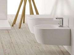 Wc sospeso in ceramica SMILE | Wc sospeso - Smile