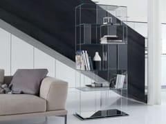 Libreria in cristallo B-CUBIC -