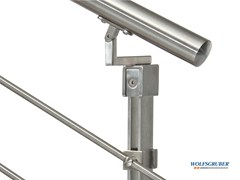 WOLFSGRUBER, INOX STEP SYSTEM Parapetto in acciaio inox