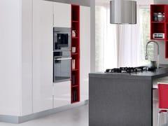 Cucina componibile in legno senza maniglie ESSENZA | Cucina con isola - Essenza