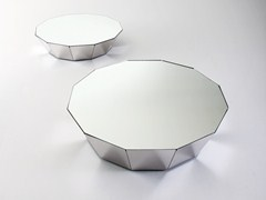 Tavolino basso in cristalloBASALTO 12 - GALLOTTI&RADICE