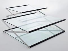 Tavolino basso in cristalloNOX - GALLOTTI&RADICE