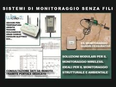 Pasi, WINECAP Datalogger Wireless monitoraggio strutturale e ambientale
