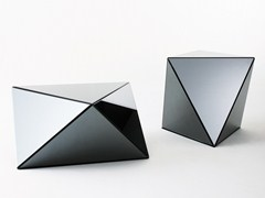 Tavolino basso in cristalloYANIN - GALLOTTI&RADICE