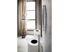 Lavabo freestanding in Corian® HOLE | Lavabo freestanding - REXA DESIGN