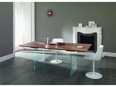 Tavolo rettangolare in legno design TAVOLANTE -
