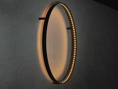 Lampada da parete a LED a luce diretta e indiretta CURVE 60 -