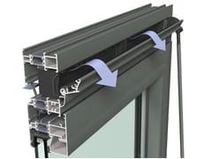 Reynaers Aluminium, Ventalis Sistema di ventilazione per porte e finestre in alluminio
