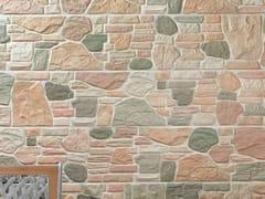 REALONDA, STONE WALL Rivestimento in gres porcellanato effetto pietra per esterni