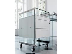 Cassettiera ufficio con ruoteMOVIE METAL - GALLOTTI&RADICE