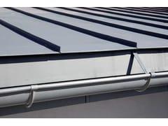 Grondaia / pluviale in zincoEvacuazione delle acque piovane - VM BUILDING SOLUTIONS GMBH