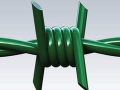 Gruppo CAVATORTA, RICCIO PVC Filo spinato in acciaio zincato plastificato
