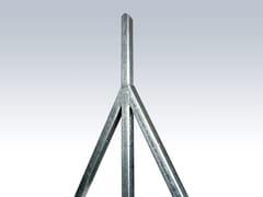 Gruppo CAVATORTA, PALETTI A C ZINCATI Recinzione in acciaio zincato