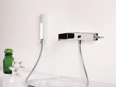 Miscelatore per vasca a muro monocomando con doccetta TETRIS | Miscelatore per vasca a muro - Tetris