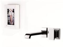 Miscelatore per lavabo a muro monocomando TYPE-FACE | Miscelatore per lavabo a muro - Type-face