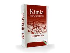 Kimia, LIMEPOR 100 Malta da iniezione a base di calce idraulica naturale