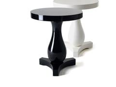Tavolino da caffè laccato rotondo in legno masselloHUDSON - BOCA DO LOBO