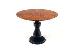 Tavolo da salotto laccato rotondo in legno impiallacciatoCOLOMBOS - BOCA DO LOBO