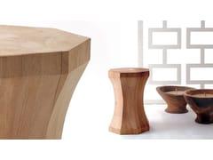 Sgabello / tavolino in rovereTHOMPSON - BOCA DO LOBO