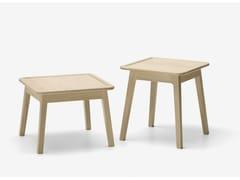 Tavolino quadrato in rovereLAIA   Tavolino - ALKI