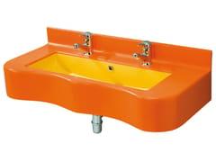 Lavabo a consolle per bambiniBIRDO | Lavabo doppio - PONTE GIULIO