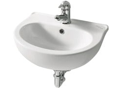 Lavabo sospeso in porcellana per bambiniMILLEPIEDI | Lavabo - PONTE GIULIO