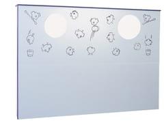 Modulo sanitario in laminato per lavaboBIRDO   Modulo sanitario per lavabo - PONTE GIULIO