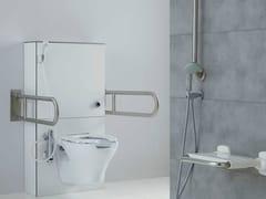 Maniglione bagno ribaltabile in acciaio inox per wcACCIAIO INOX SATINATO | Maniglione bagno ribaltabile - PONTE GIULIO