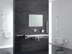 Maniglione bagno fisso in acciaio inoxPRESTIGIO | Maniglione bagno fisso - PONTE GIULIO