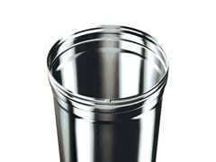 Schiedel, GASFIX - Monoparete sp. 0.4 mm Canna fumaria in acciaio inox