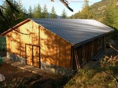 Casa in legnoSISTEMA TELAIO - GALLOPPINI LEGNAMI