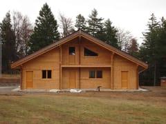 Casa in legnoSISTEMA BLOCK-HOUSE - GALLOPPINI LEGNAMI