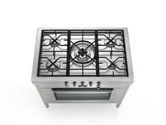 Cucina a libera installazione in acciaio inoxLIBERI IN CUCINA | Cucina a libera installazione - ALPES-INOX