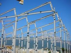 Sistema costruttivo in carpenteria metallicaStruttura antisismica - PICHLER PROJECTS