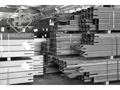Taglio laser tubi in acciaioSistema costruttivo in carpenteria metallica - CMM