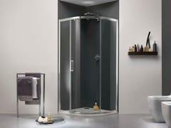 Box doccia a nicchia in vetro con porta scorrevole MORE LIVE R1P - More Live