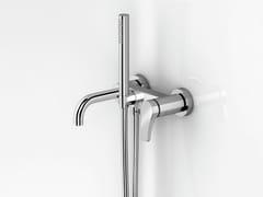 Miscelatore per vasca a muro con doccettaAL/23 | Miscelatore per vasca a muro - ABOUTWATER