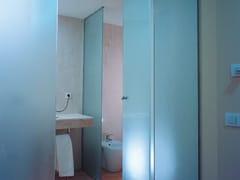Parete mobile in vetro satinatoSATINOVO® - SAINT-GOBAIN GLASS ITALIA