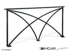 Transenna in acciaio zincatoRecinzione Palermo Archi - DIMCAR