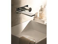 Miscelatore per lavabo a muro con piastraMILANO - D113A/E513B - FANTINI RUBINETTI