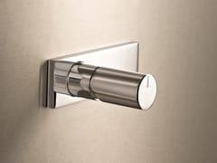 Miscelatore per doccia monocomando con piastra MILANO - D063A/E686B - Milano