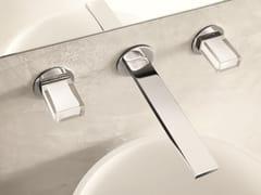 Rubinetto per lavabo a 3 fori a muro VENEZIA IN | Rubinetto per lavabo a muro - Venezia In