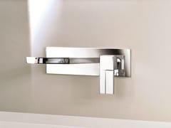 Miscelatore per lavabo a muro con piastra AR/38 | Miscelatore per lavabo con piastra - AR/38