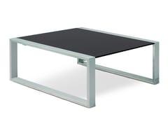 Tavolino da giardino basso quadrato MESITA 78/91 LOUNGE - Cima lounge